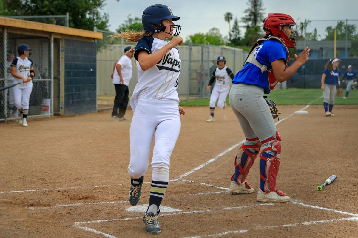 Clayton Valley Charter at Napa softball