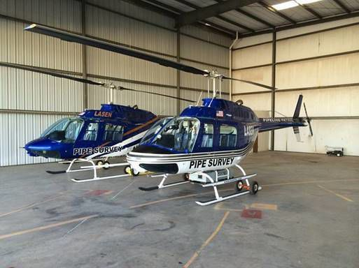 Pacific Gas & Electric helicopters