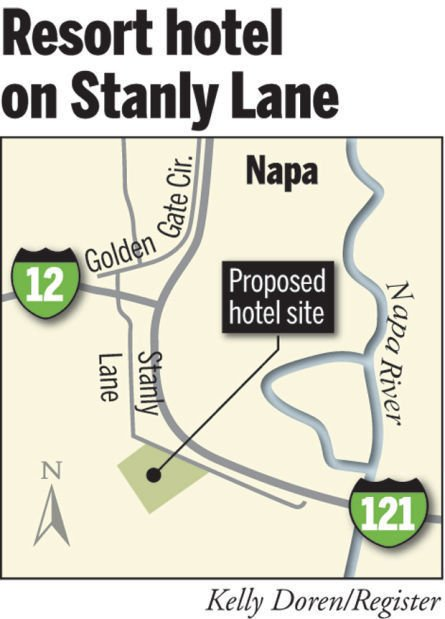 Proposed Stanly Ranch hotel