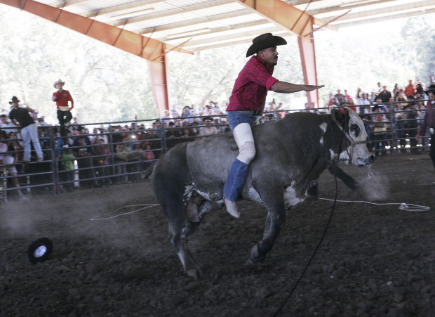 Bull riding and Mexican fiesta become the main event in