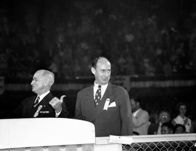 Adlai Stevenson, Harry S. Truman