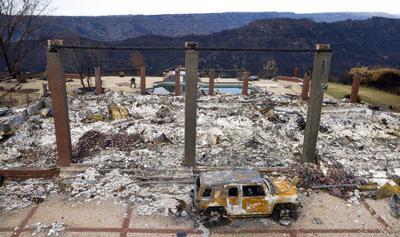 Dwindling list of missing people brings relief to burn area (copy)