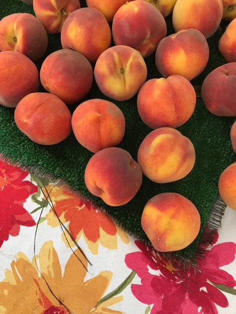 peaches at NFM