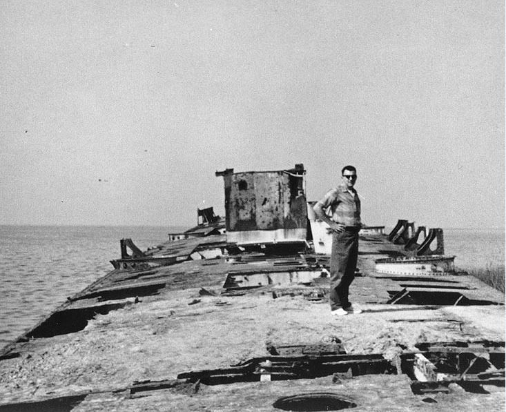 Rusting Hulk Of Ww I Era Destroyer To Be Featured On American Canyon