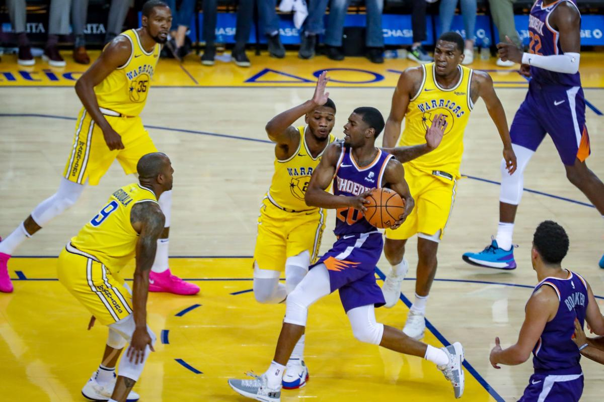 Josh Jackson at Warriors