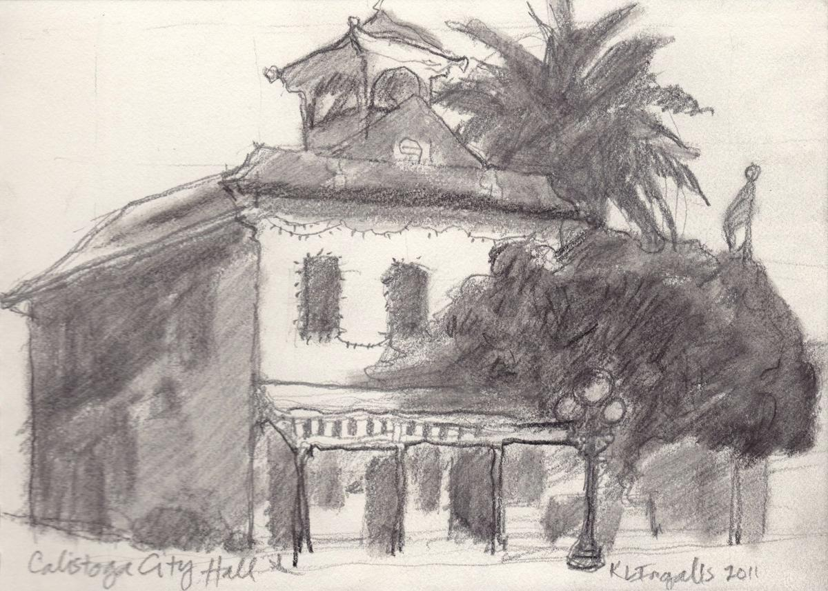 Architecture Drawing Class beginning drawing class for adults | calistoga and napa valley