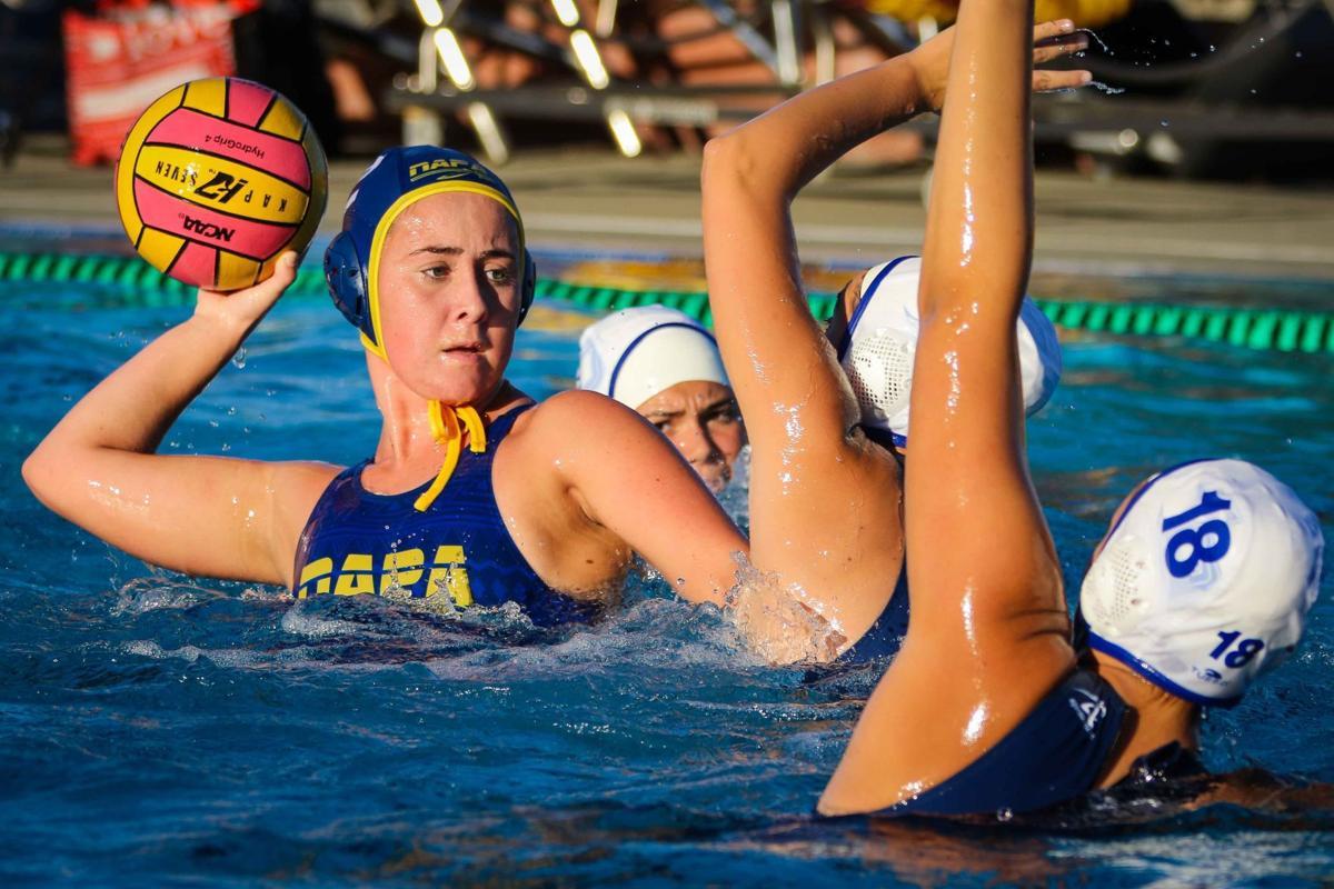 Vintage Napa Justin Girls Water Polo Teams Win Playoff