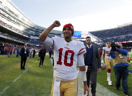 49ers look to build momentum after Garoppolo's solid start