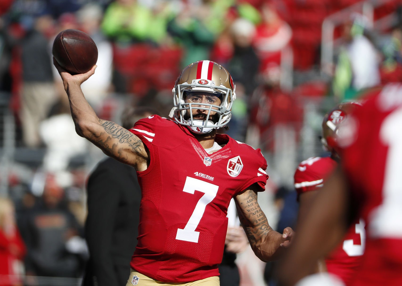 Colin Kaepernick Seems to Have A Message for Michael Vick