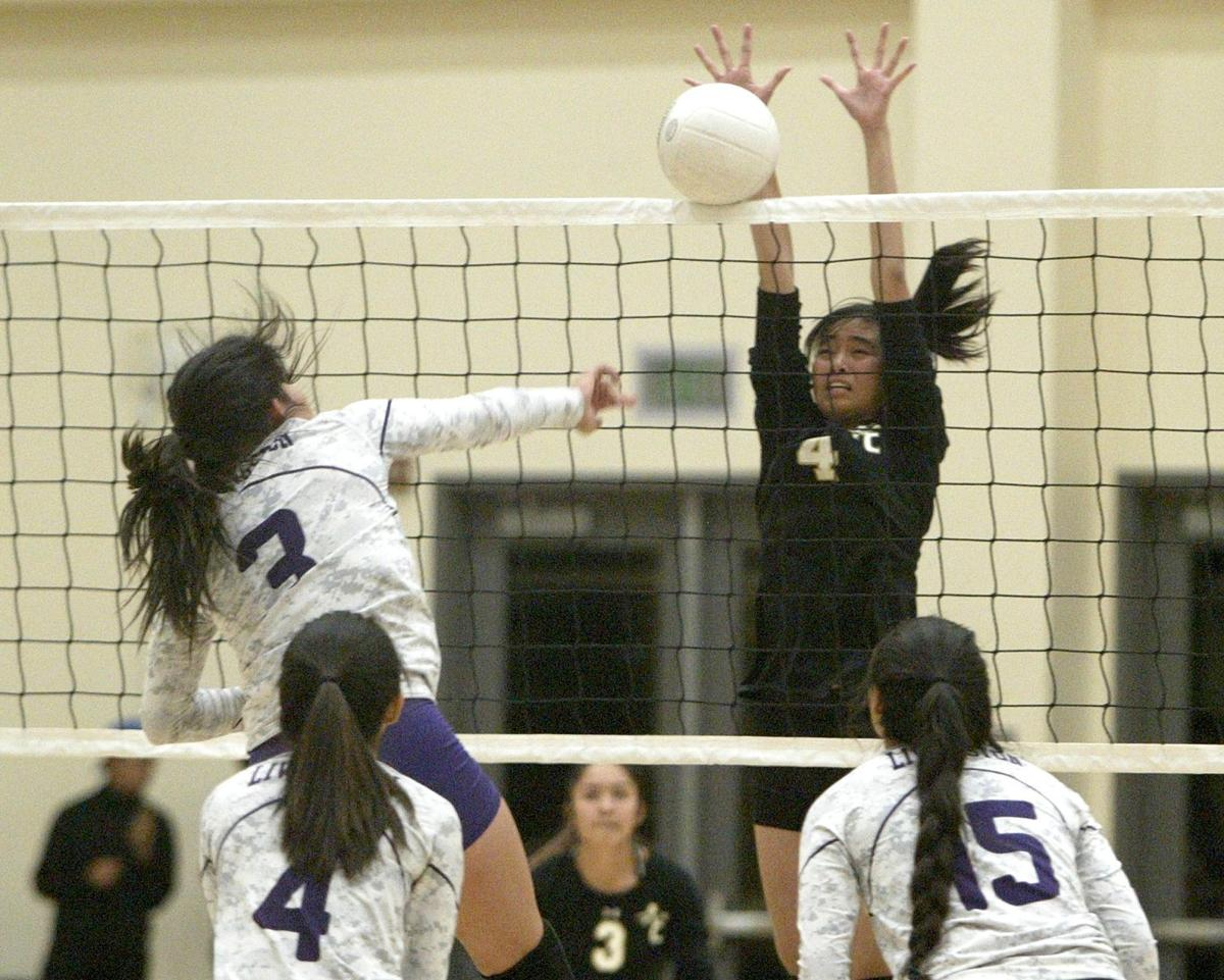 American Canyon High volleyball
