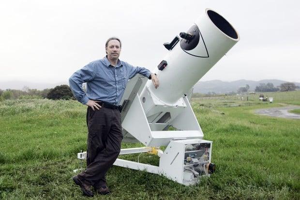 Napa astronomer's custom built telescope a sight to be seen