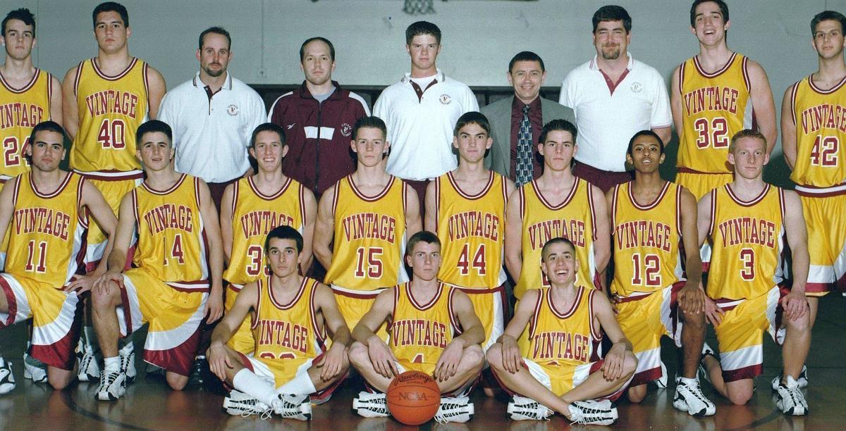 Vintage 1999-2000 boys basketball team