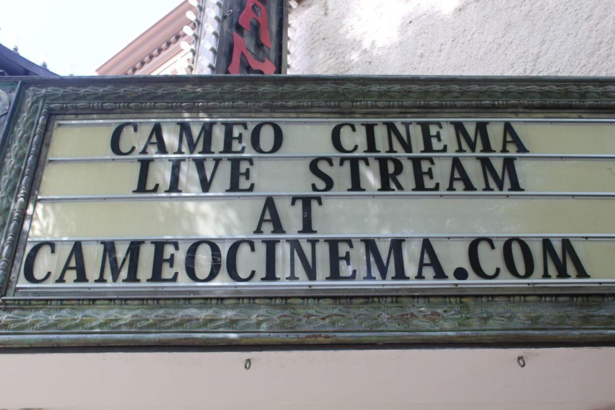 Cameo Cinema marquee