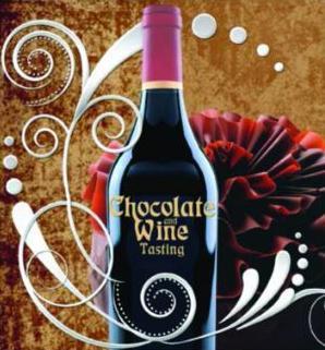 Chocolate and Wine Logo