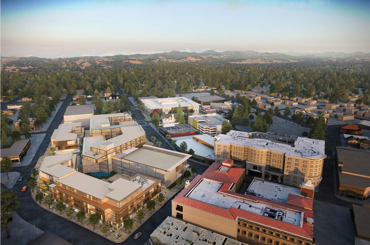 Redeveloping the Napa City Hall block
