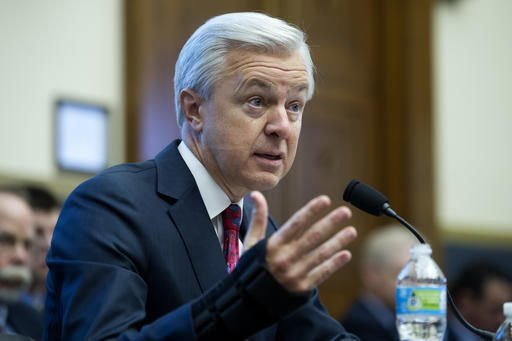 House lawmakers heap blistering criticism on Wells Fargo CEO