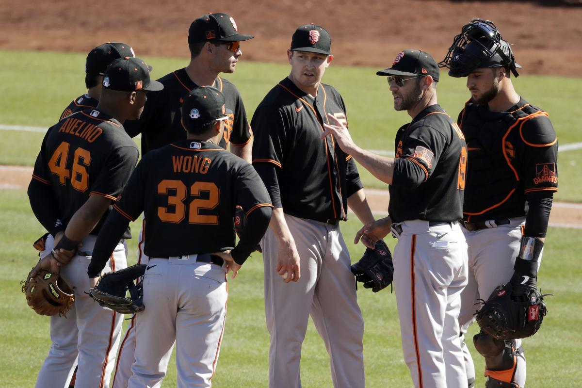Giants Padres Spring Baseball