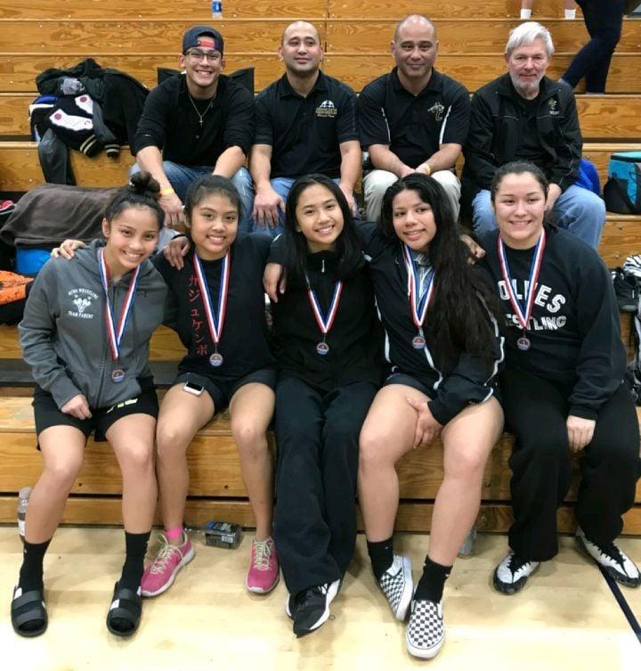 American Canyon High girls wrestling