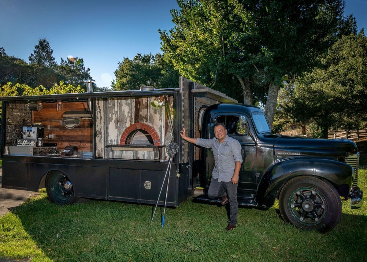 Napa Valley food trucks — farm to tire