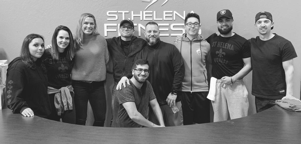 The staff at St. Helena Fitness