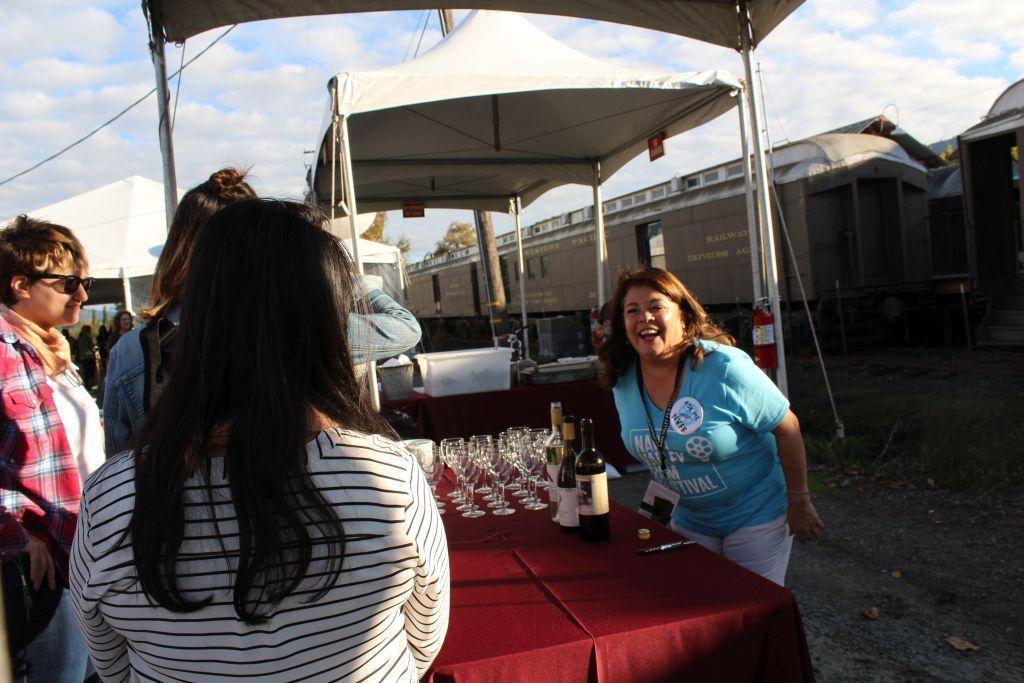 Calistoga Gliderport wine pavilion NVFF 2016