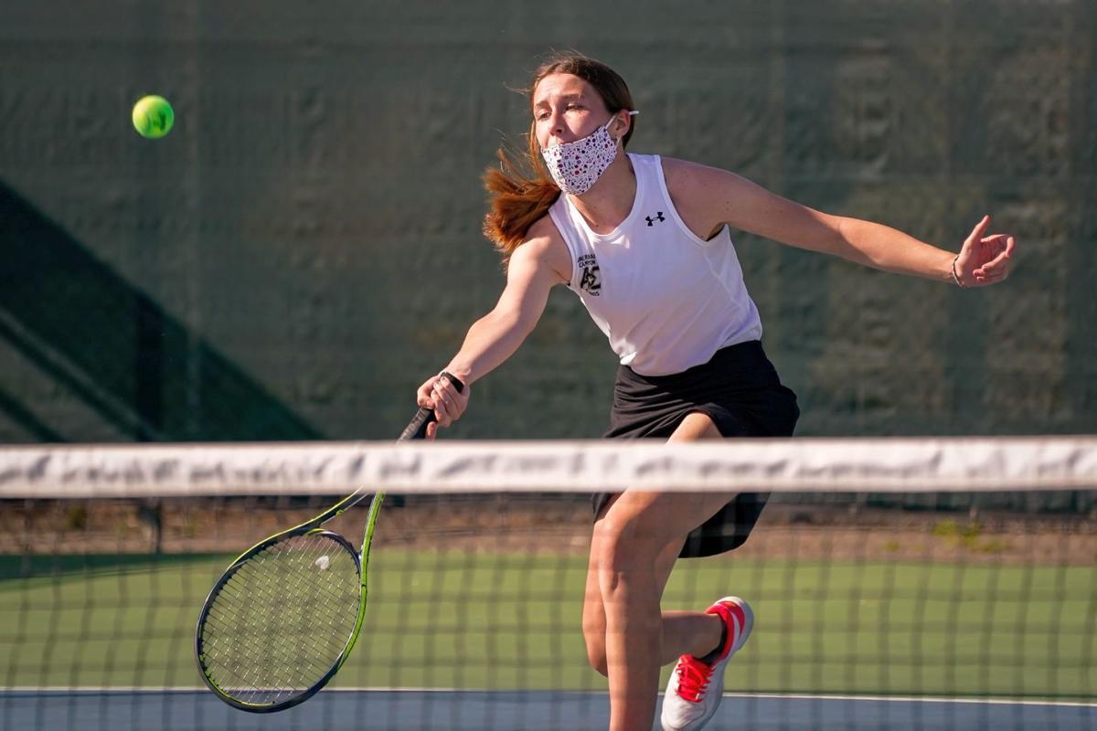 American Canyon Wolves vs. Napa High Grizzlies Varsity Girls Tennis
