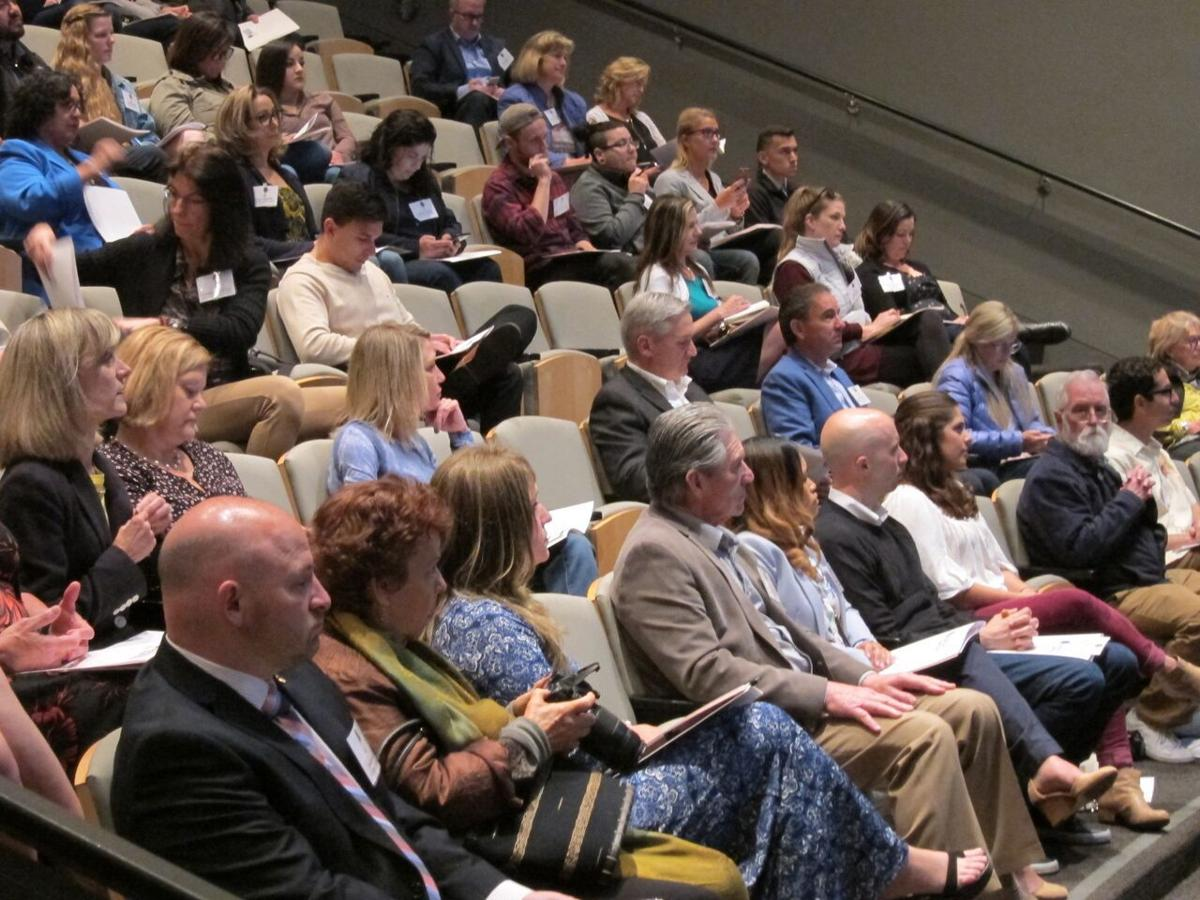 The audience at the Napa Valley Hospitality Symposium