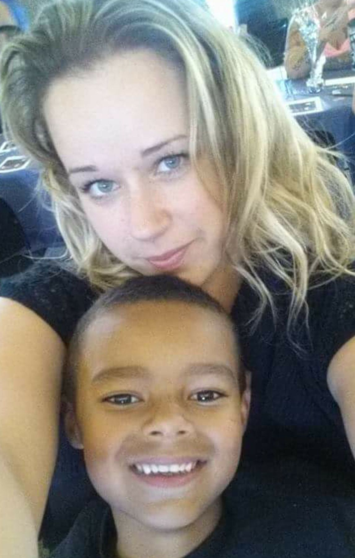 Jessica Bennett-Roberts and son Jerome