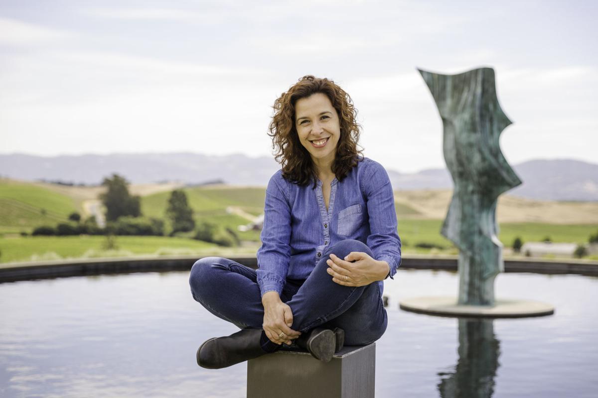 Artesa winemaker Ana Diogo-Draper
