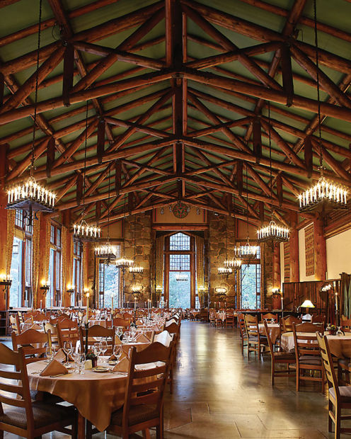 Smitten By Food Ahwahnee Dining Room Yosemite National Park: Yosemite's Ahwahnee Hotel Hosts Winter Culinary Gatherings