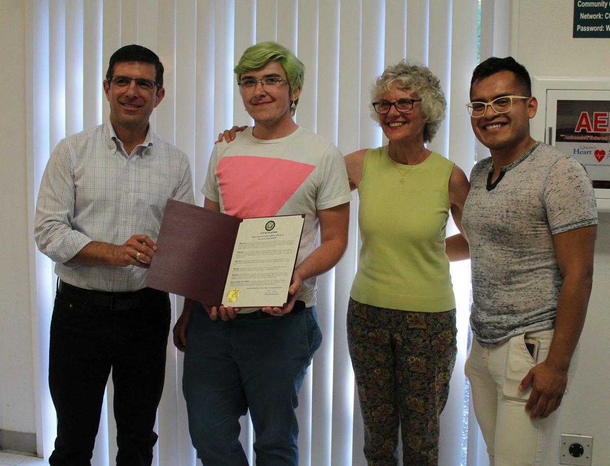 Calistoga LGBTQ Month