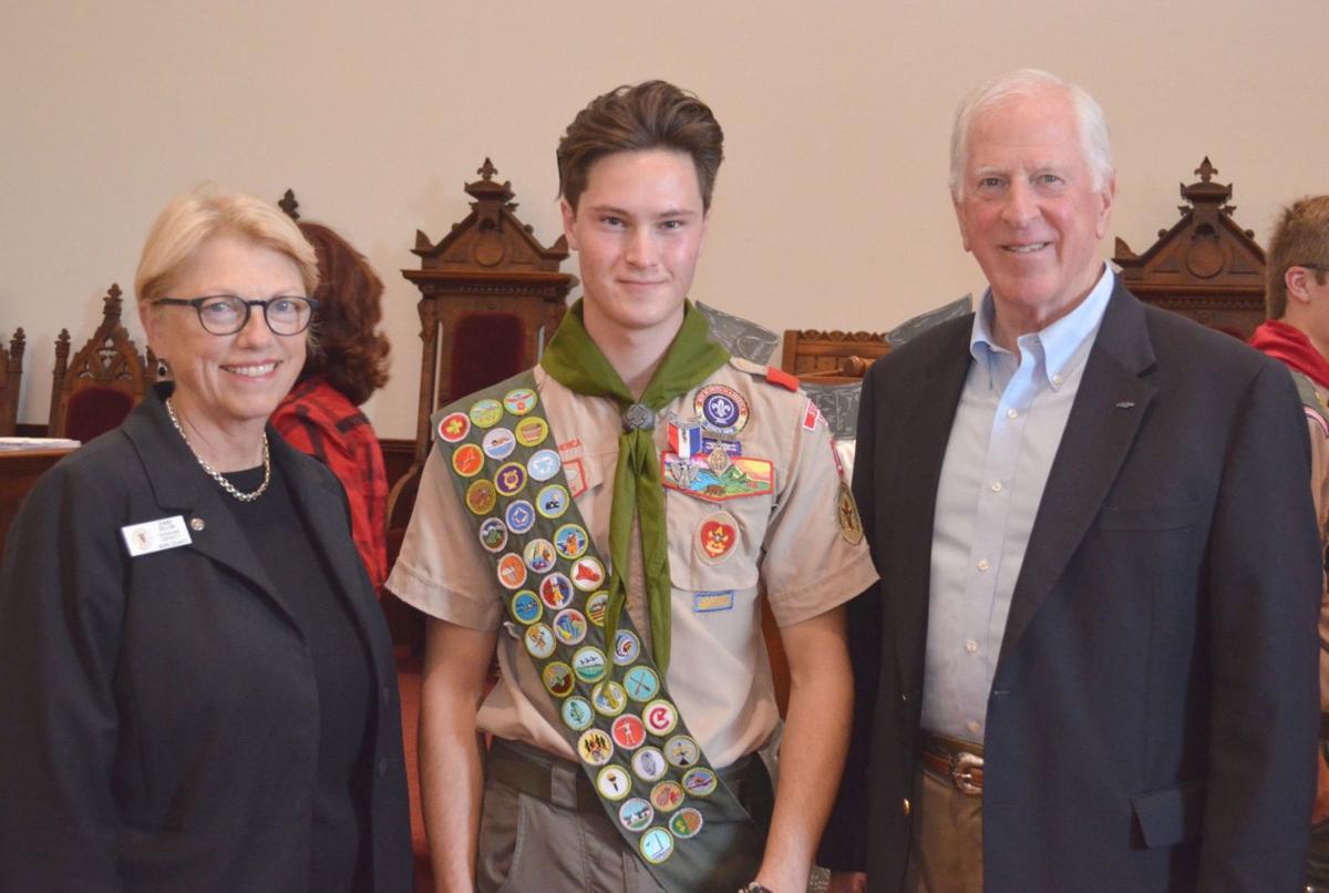 John Baker, Eagle Scout Court of Honor