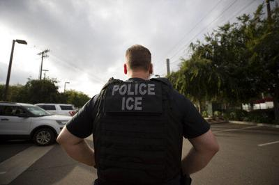 Making an immigration arrest requires hours of surveillance