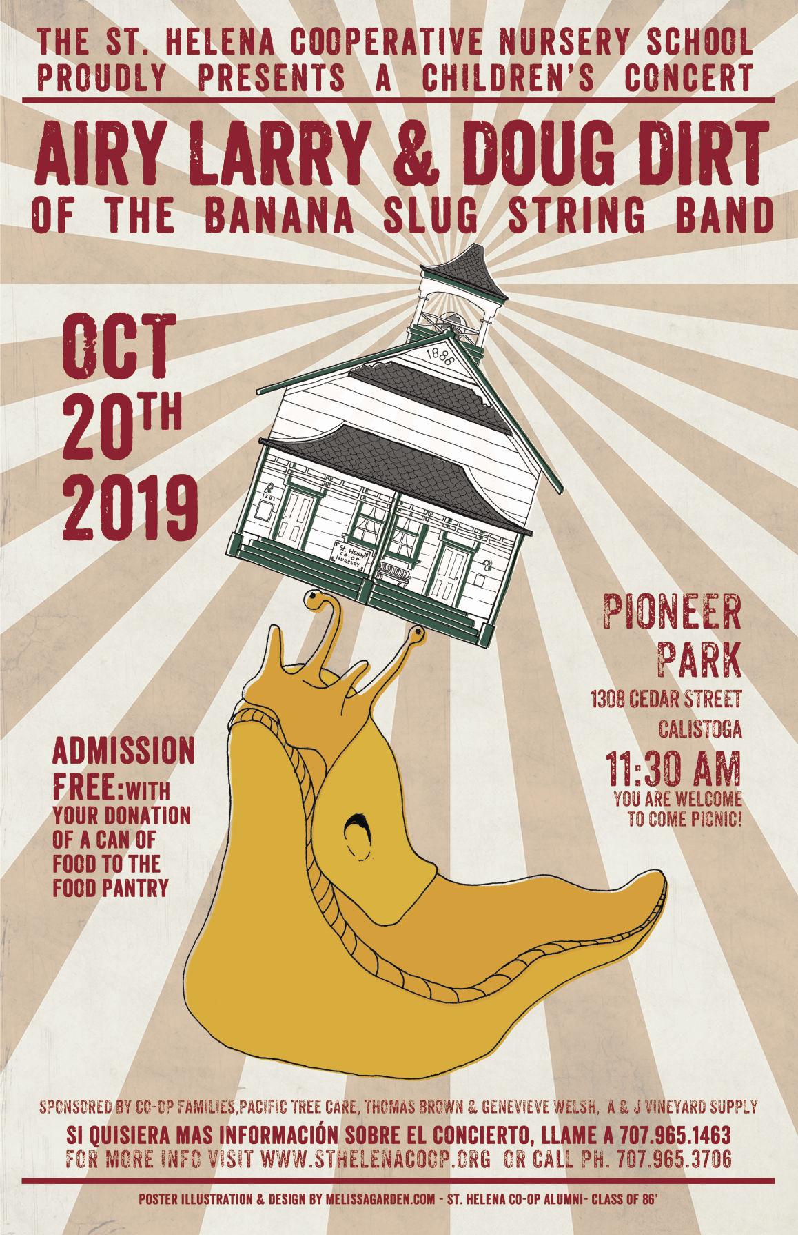 Banana Slug Band Concert