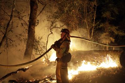 California Wildfire Cause