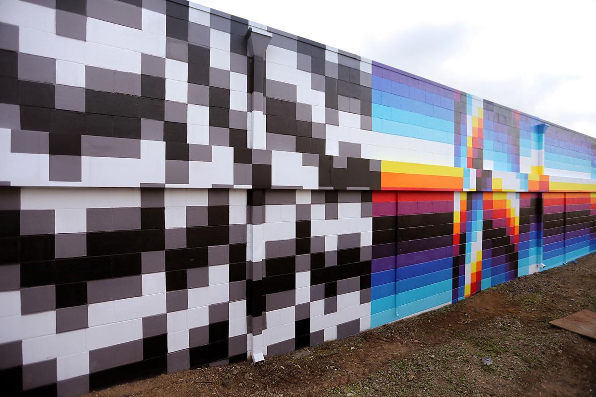 Muralist Felipe Pantone