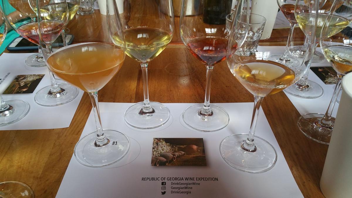 Georgian wines