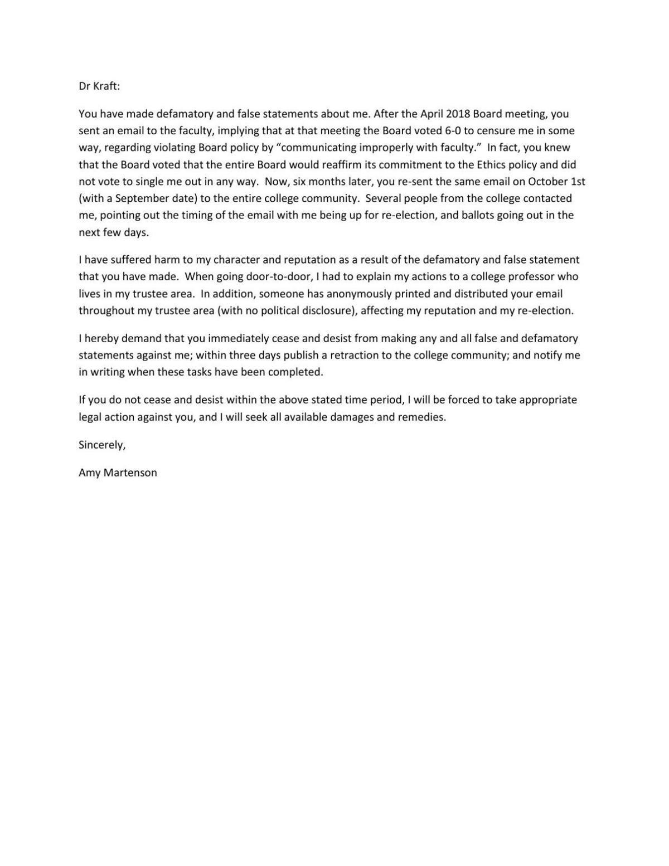 Martenson Cease And Desist Letter Pdf Napavalleyregister Com