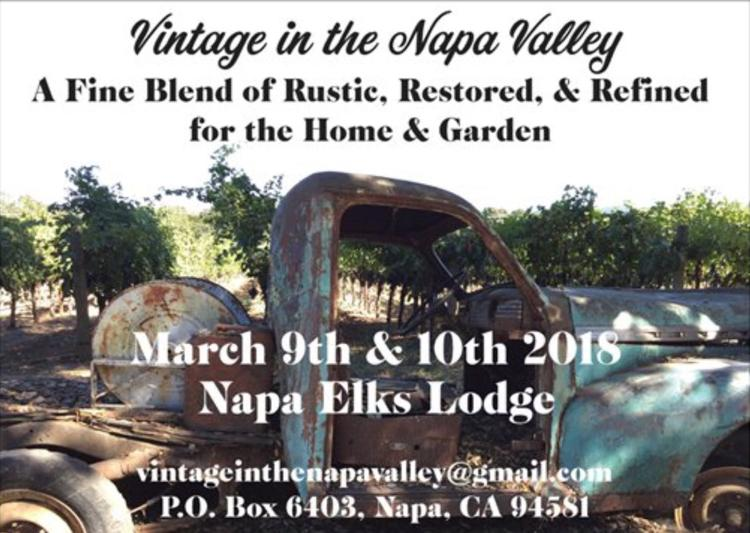 Vintage in the  Napa Valley Marketplace
