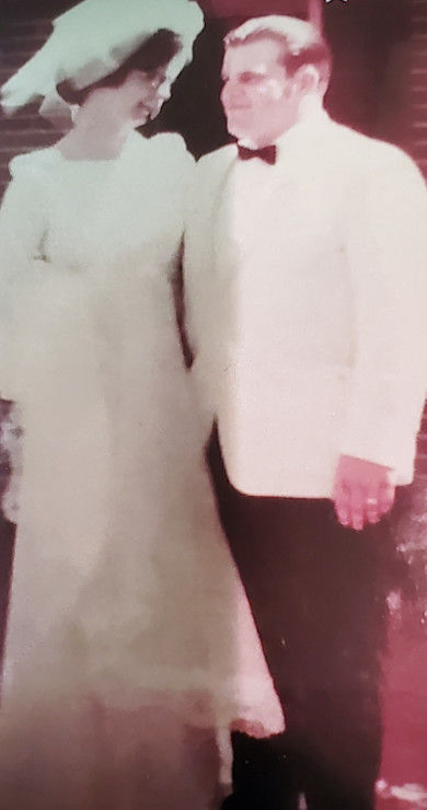 Terry and Pat Simpkins celebrate 50 years of marriage