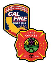 cal fire napa county fire logo