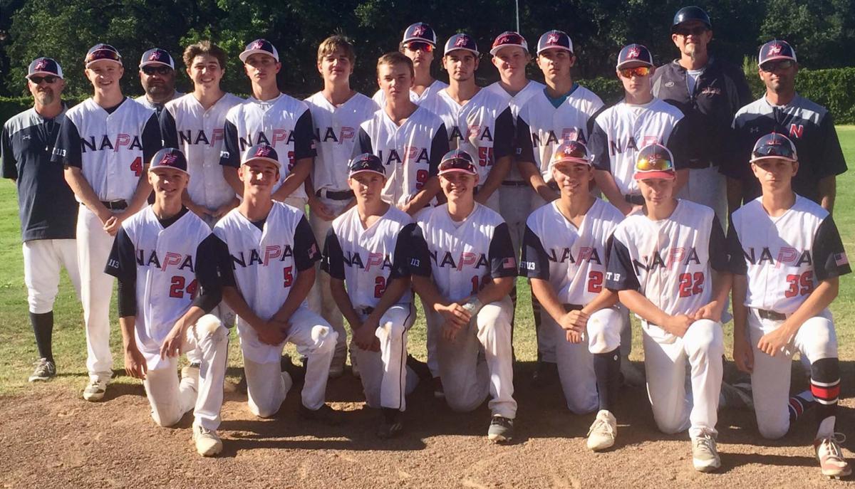 Napa Valley Baseball Club's under-17 American Legion team