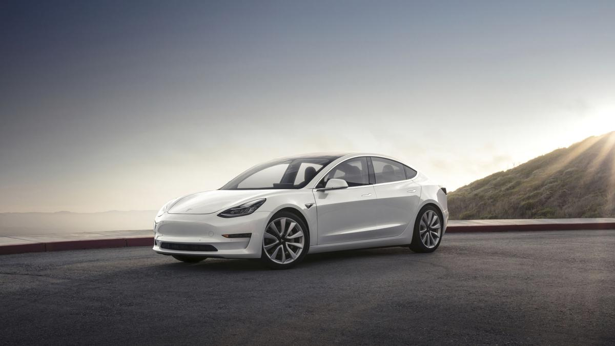 Behind the Wheel Tesla