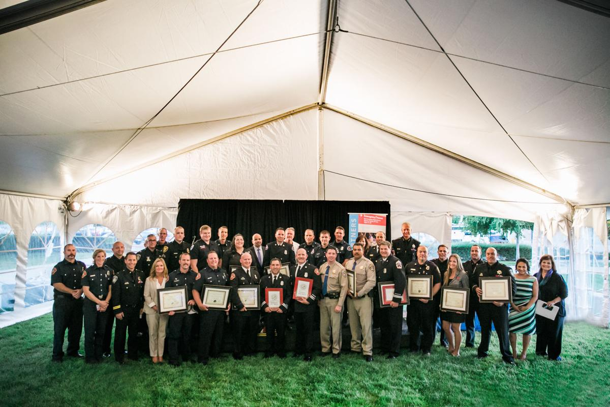 Kaiser Permanente recently celebrated first responders