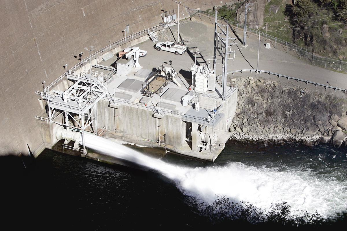 Monticello Dam Glory Hole