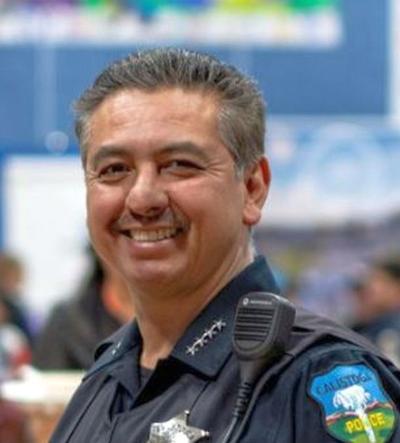 Calistoga Police Chief Mitch Celaya