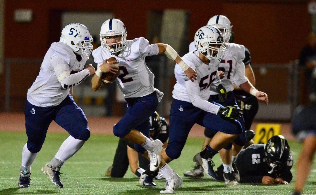 Justin-Siena at American Canyon football