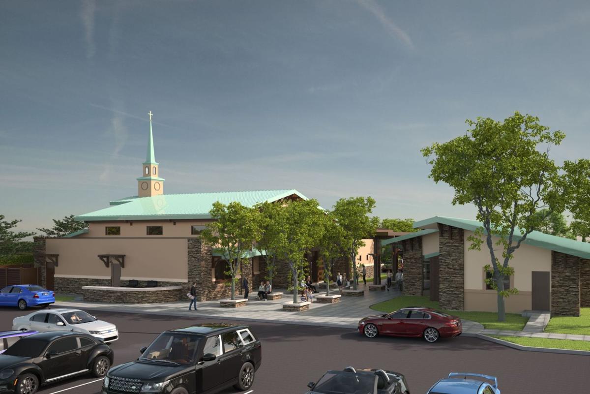 Holy Family Catholic Church rendering