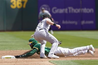White Sox Athletics Baseball