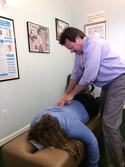 Napa chiropractor Ron Williams